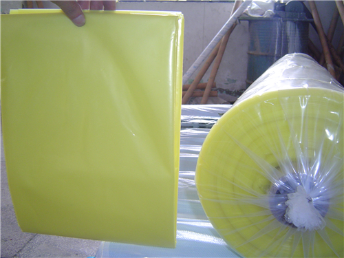 YELLOW GREENHOUSE FILM POLYETHYLENE COVERINGS
