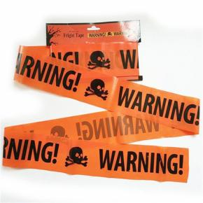 Halloween Caution Tape Haunted Fright Tape