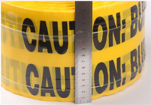 Tracer wire stainless steel detectable underground warning tape
