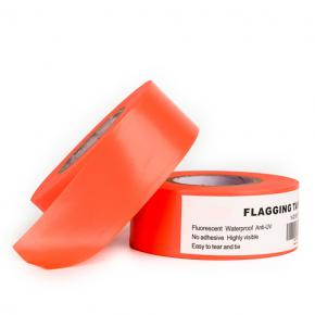 Orange Fluorescent Flagging Tape